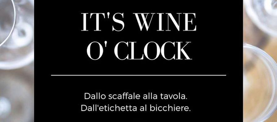 It's Wine O'Clock